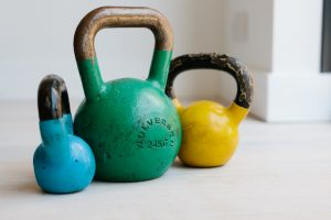 Bronwen Wright's Personal Training equipment: Kettle Balls